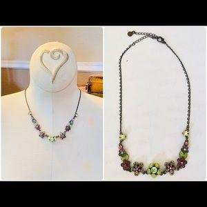 Pilgrim Danish Design Flower Crystals Necklace
